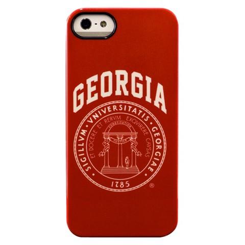 Collegiate Deflector University of Georgia Pixel Stripe Cell Phone Case for iPhone 5