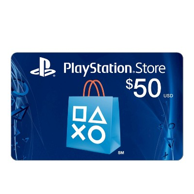 PlayStation Network $50 USD Cash Code (Email Delivery)