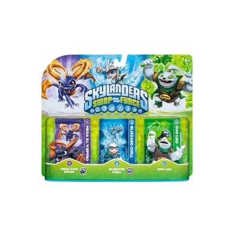 Skylanders Swap Force Character Triple Pack 2 - Mega Ram Spyro, Blizzard Chill, and Zoo Lou
