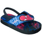 Toddler Boy's Spiderman Flip-Flop Sandals - Blue