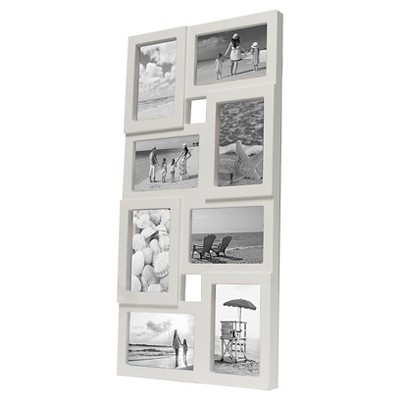 "8-Opening Frame White 4""x6"" - Room Essentials™"