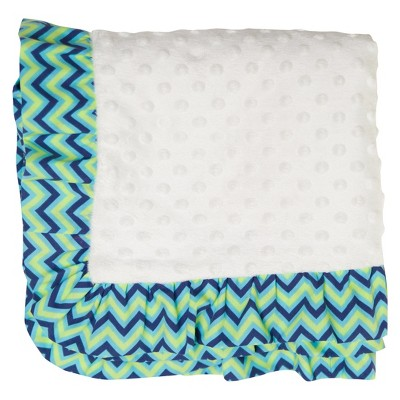 Pam Grace Creations Baby Blanket - Simply Zig Zag