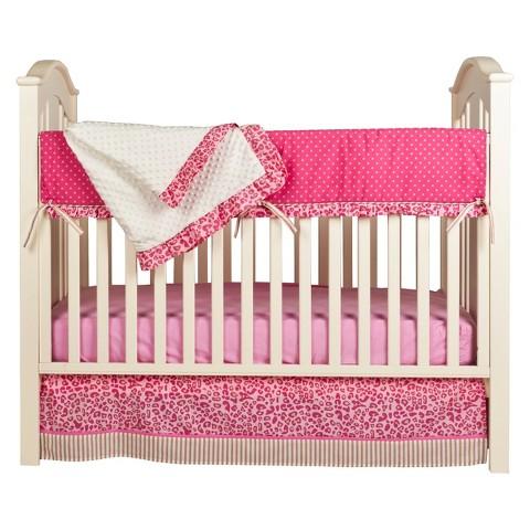 Simply Cheetah 4 Piece Crib Set