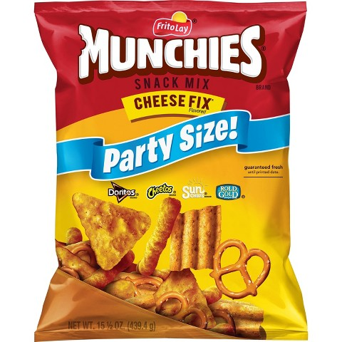Munchies Cheese Fix Snack Mix Party Size 15.5 oz