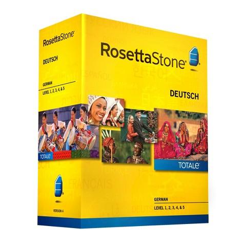 Rosetta Stone German v4 TOTALe - Level 1, 2, 3, 4 & 5 Set - Learn German