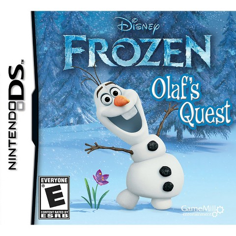 Disney Frozen - Olaf's Quest (Nintendo DS)