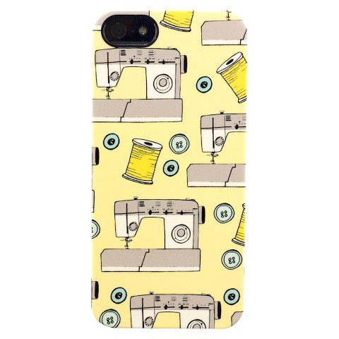 Pen and Paint Sewing Machine Deflector Cell Phone Case for iPhone 5