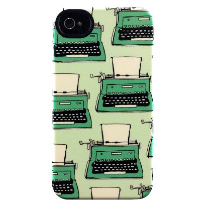 Pen and Paint Typewriter Deflector Cell Phone Case for iPhone 4/4s