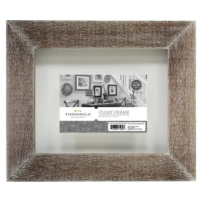 "4""x6"" Flat Gallery Float Frame Grey - Threshold™"