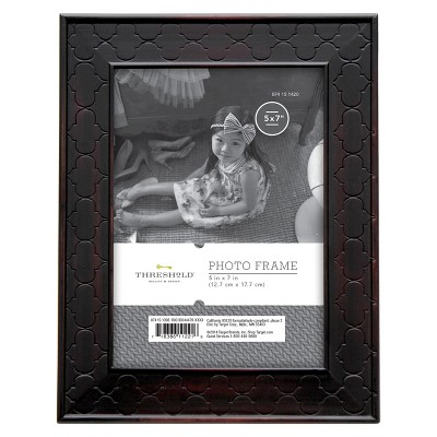 "5""x7"" Rubbed Bronze Frame Black - Threshold™"