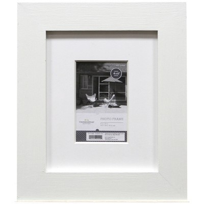 "4""x6"" Flat Gallery Frame White - Threshold™"