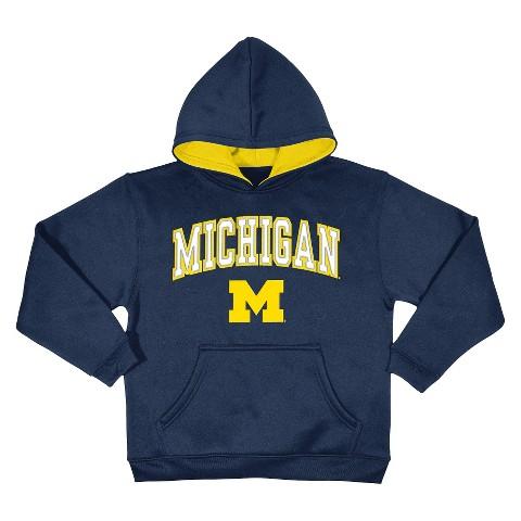 Michigan Wolverines Men's Sweatshirt in Navy