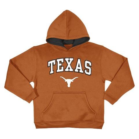Texas Longhorns Kid's Sweatshirt in Burnt Orange