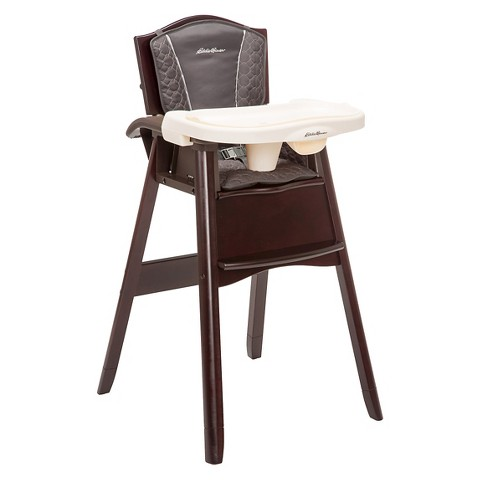 Ed Bauer Classic 3 in 1 Wood High Chair Tar