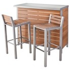 Threshold™ Bryant Faux Wood Patio Bar Furniture Set