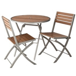 Threshold™ Bryant Faux Wood/Sling Patio Furniture Collection