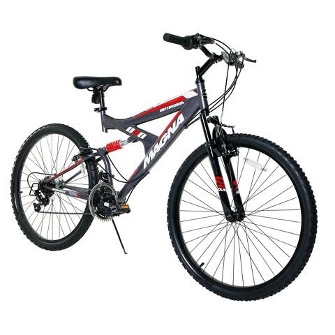 """Men's Magna Outreach Bike - Grey (26"""")"""