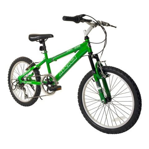 "Boy's Magna Great Divide Bike - Green (20"")"