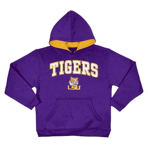 Lsu Tigers Kid S Sweatshirt In Violet Target