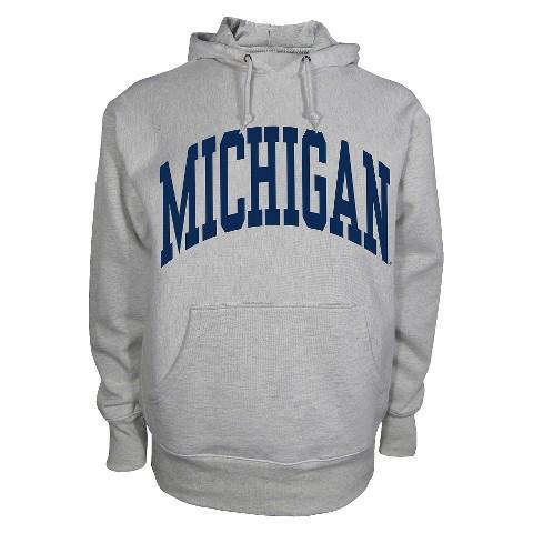 Michigan Wolverines Men's Sweatshirt in Grey