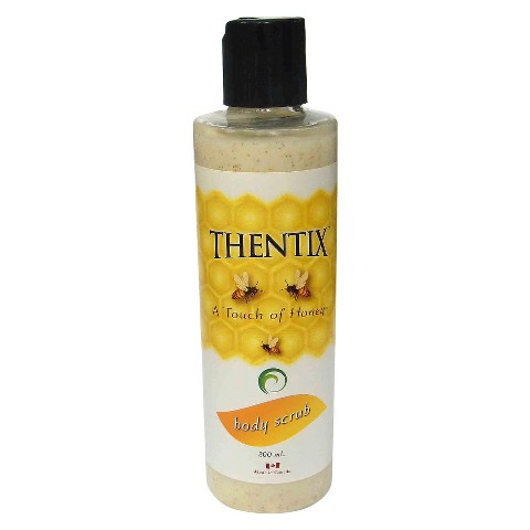 Thentix A Touch of Honey Natural Exfoliating Body Scrub - 8 oz