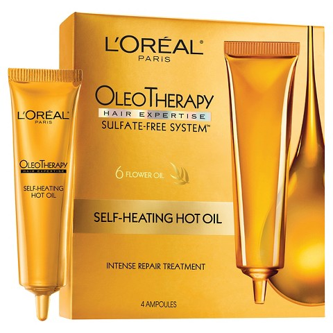 L'Oréal® Paris Hair Expertise Oleo Therapy Self Heating Hot Oil - 1 kit