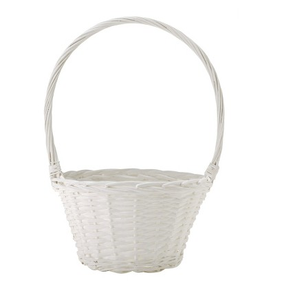 Easter Large Easter Basket White Willow