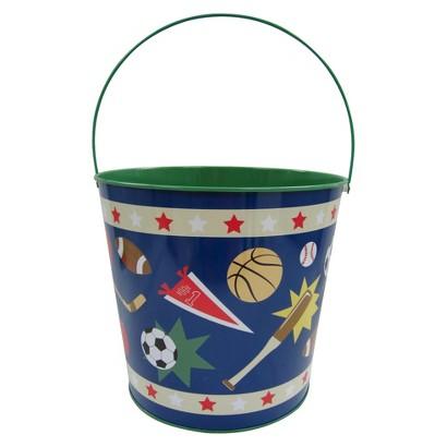 Easter Jumbo Tin Basket Sport