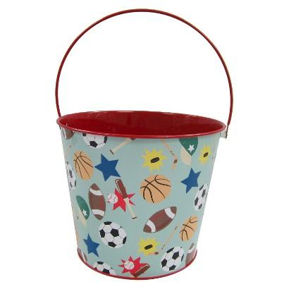 Easter Large Tin Basket Sport