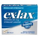 Ex-Lax® Regular Strength Stimulant Laxative - 30 Pills