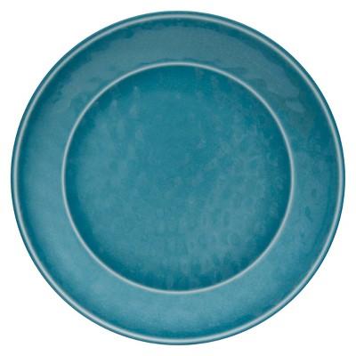Round Teal Salad Plate