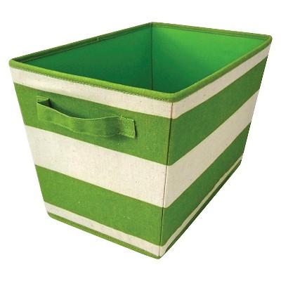 Circo™ Linen Striped Tote - Green