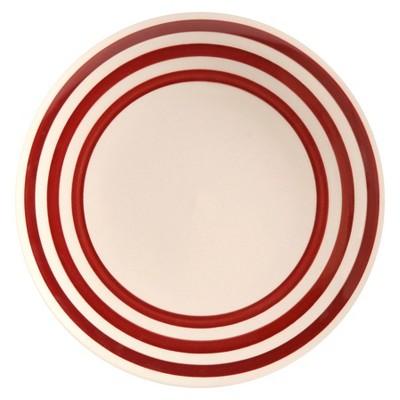 Threshold™ Bistro Salad Plate - Ruby Ring Stripe
