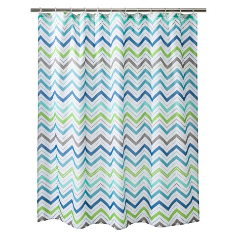 Circo™ Cool Chevron Shower Curtain