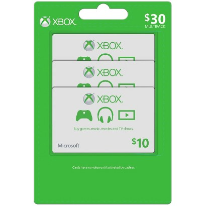 XBOX $30 Multipack Points