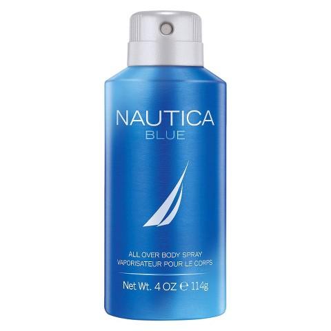 Nautica Blue All Over Body Spray - 4 oz