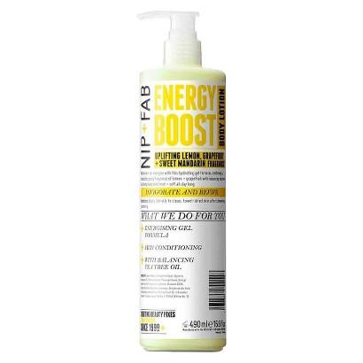 Nip + Fab Energy Boost Body Lotion - 16.9 oz