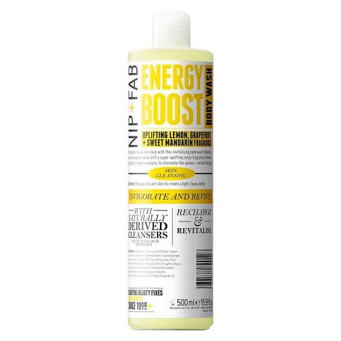 Nip + Fab Energy Boost Body Wash - 16.9 oz