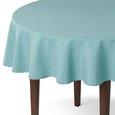 Threshold™ Solid Tablecloth - Blue - 70R