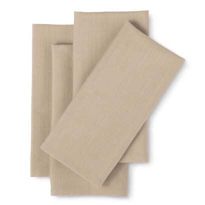 THRESHOLD HEAVY CREAM 1.5 X 12 X 13 KITCHEN TEXTILE SET