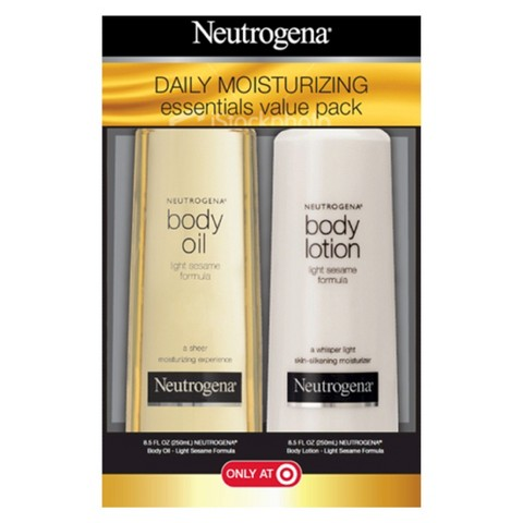 Neutrogena Daily Moisturizing Essentials Value Pack - 17 oz
