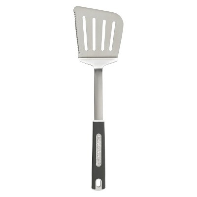 Calphalon Stainless Steel Slotted Turner - Gray