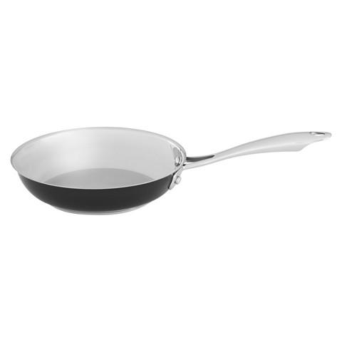 """KitchenAid® 8"""" Stainless Steel Skillet - Black"""