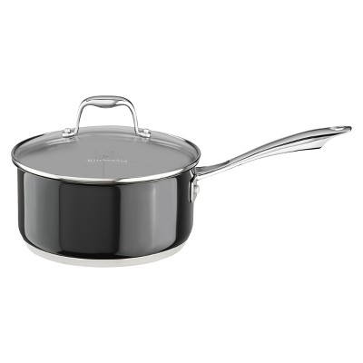 KitchenAid® Stainless Steel 3.0-Quart Saucepan with Lid - KCS30PL
