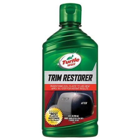 Turtle wax trim restorer target Black interior car trim restorer