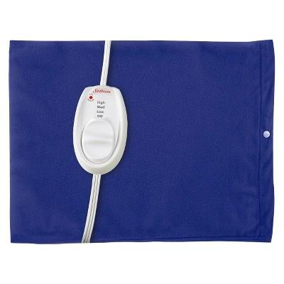 Sunbeam® Moist and Dry Heating Pad - Blue(Standard Size)