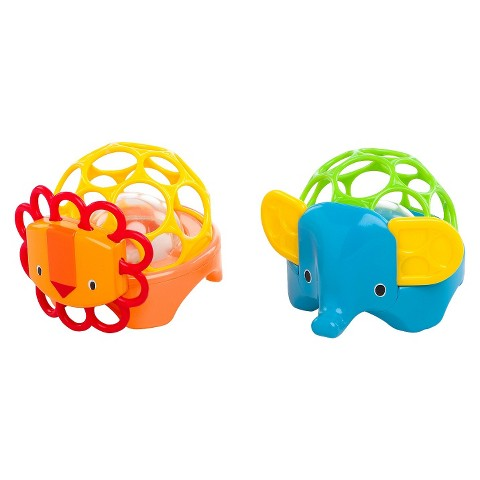 Oball Rollie Rattles - Assorted Colors