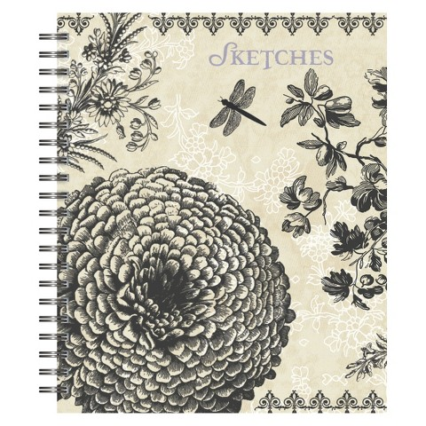 Belle Maison Spiral Sketchbook