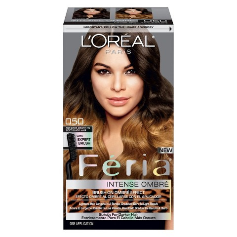 L'Oreal® Paris Feria Brush-on Intense Ombre Effect O30 For Black Hair