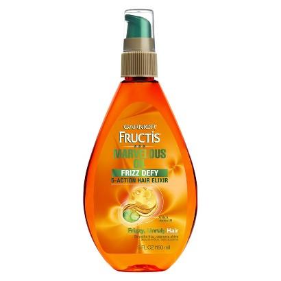 Garnier® Fructis® Marvelous Oil Frizz Defy 5-Action Hair Elixir - 5 oz
